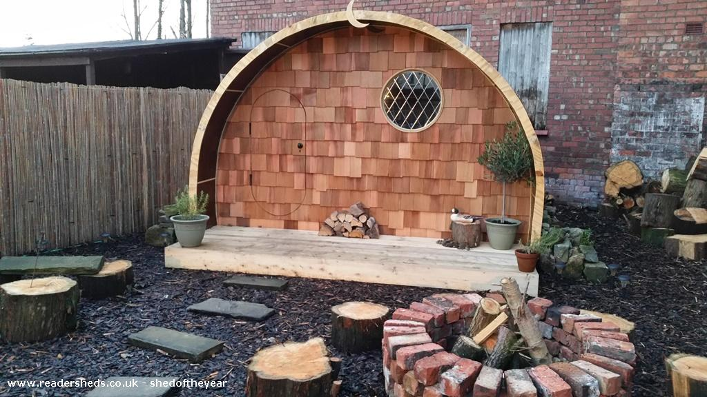 The Hobbit House Cabin Summerhouse From Garden Owned By