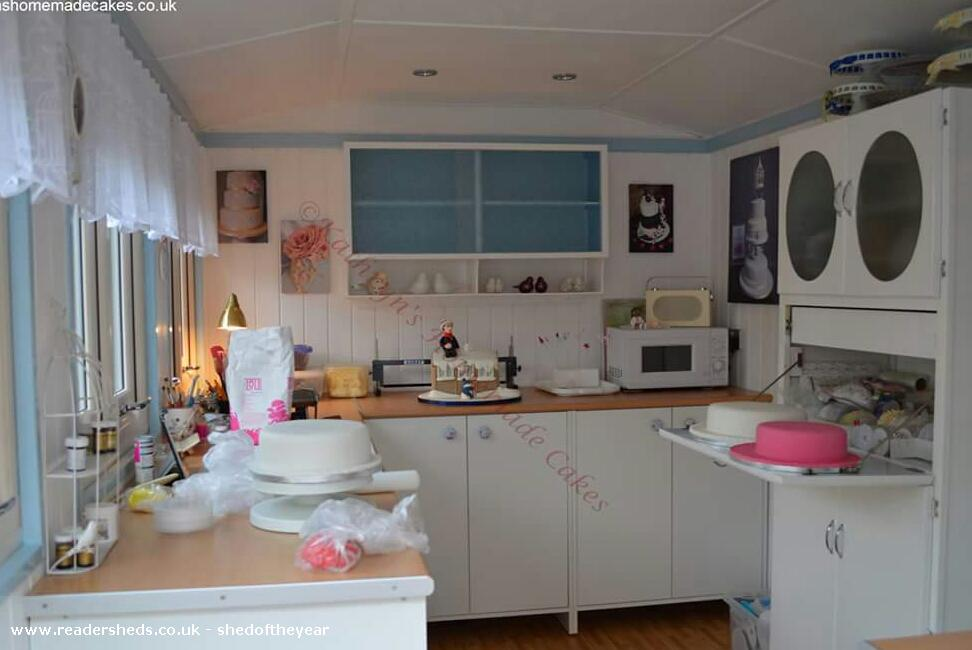 The Cake Studio Workshop Studio From Garden Owned By